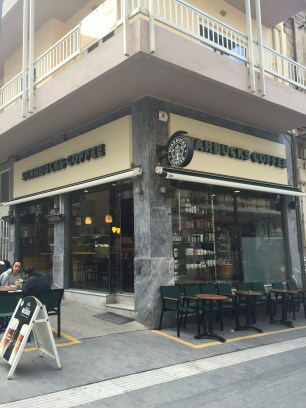 Starbucks in Iraklion